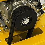 DENQBAR Profi Rüttelplatte mit Benzinmotor mit 20 kN Verdichtungsdruck - 4